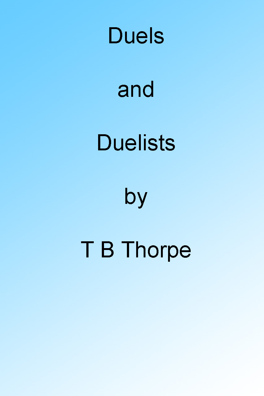 Duels and Duelists
