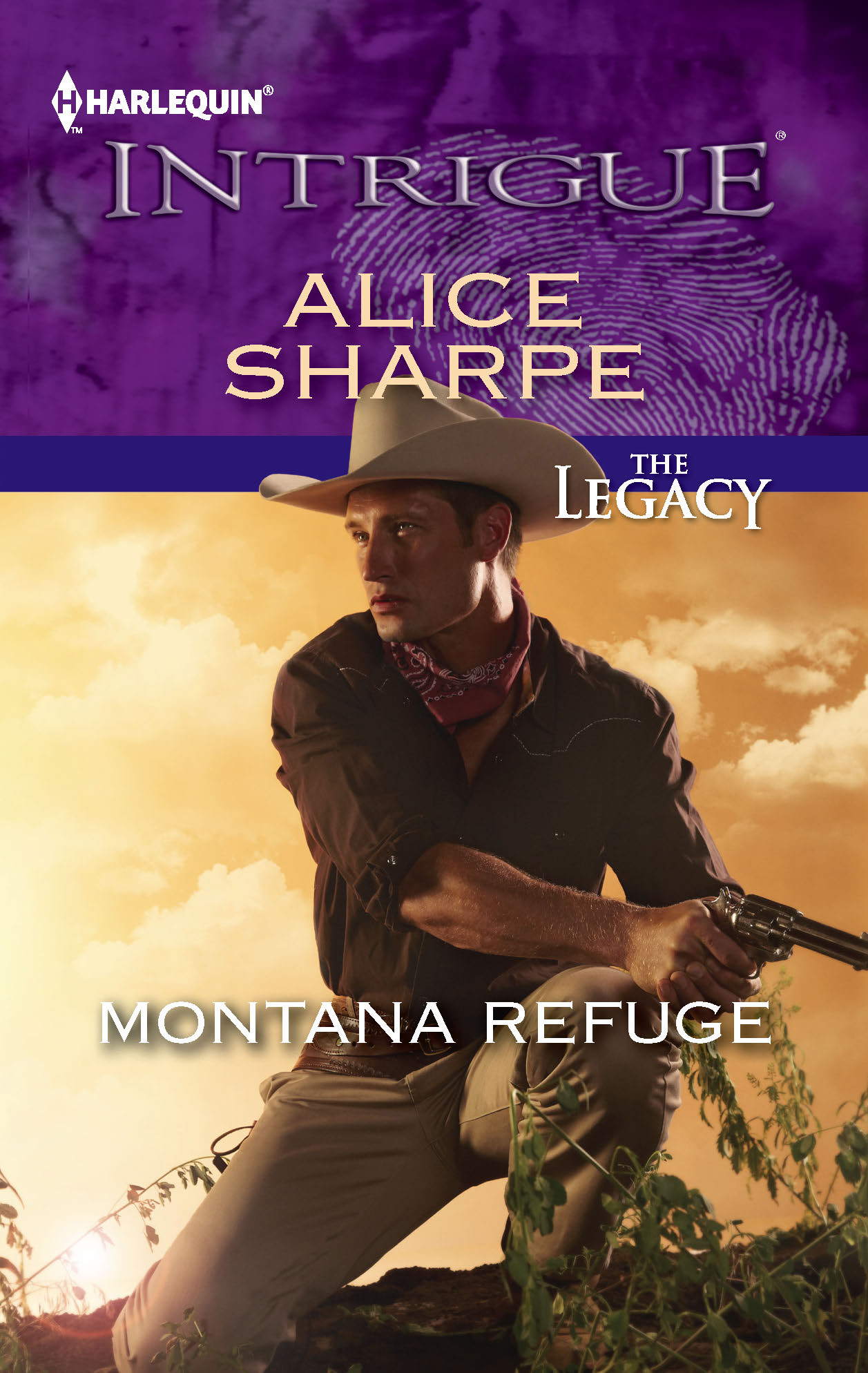 Montana Refuge By: Alice Sharpe