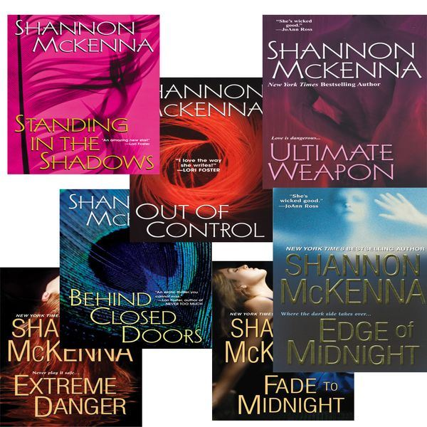 Shannon Mckennas McCloud Brothers Bundle: Fade to Midnight, Behind Closed Doors, Standing in the Shadows, Out of Control, Edge of Midnight, Extreme Danger & Ultimate Weapon