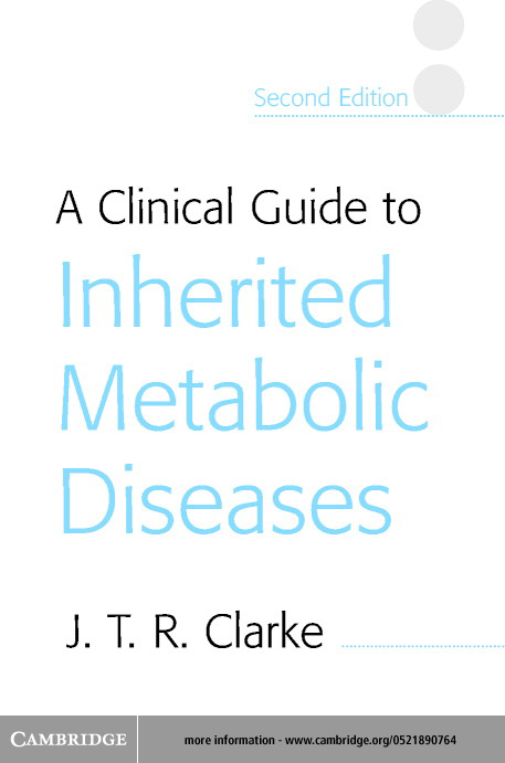 A Clinical Guide to Inherited Metabolic Diseases
