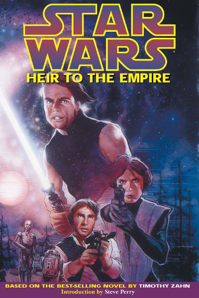 Star Wars: Heir to the Empire By: Mike Baron, Olivier Vatine (Artist),  Fred Blanchard (Artist), Isabelle Rabarot (Colorist), Mathieu Lauffray (Cover Artist)