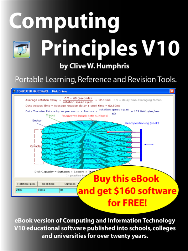 Computing Principles V10 By: Clive W. Humphris