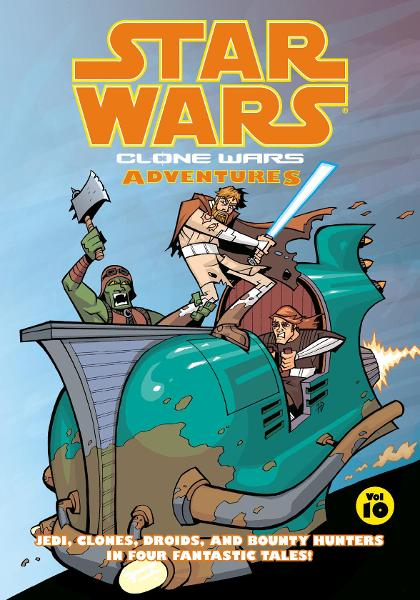 Star Wars: Clone Wars Adventures Volume 10 By: Matthew Fillbach, Shawn Fillbach, Chris Avellone, Jason Hall, Matthew Fillbach (Artist), Shawn Fillbach (Artist), Stewart McKenny (Artist), Ethan Beavers (Artist)