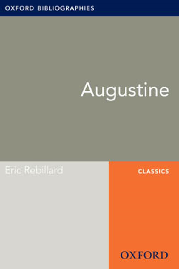 Augustine: Oxford Bibliographies Online Research Guide