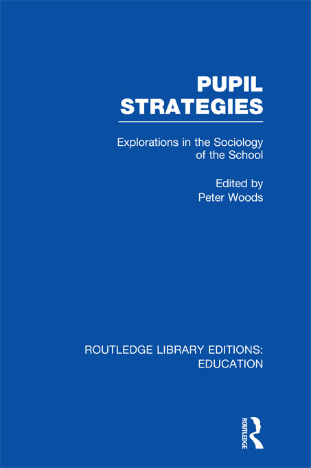Pupil Strategies (RLE Edu L) By: