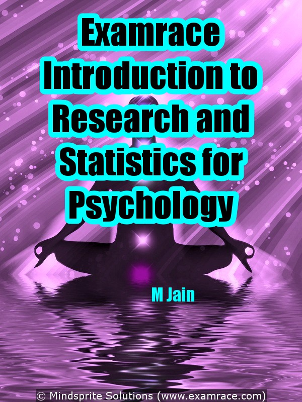 Examrace Introduction to Research & Statistics for Psychology