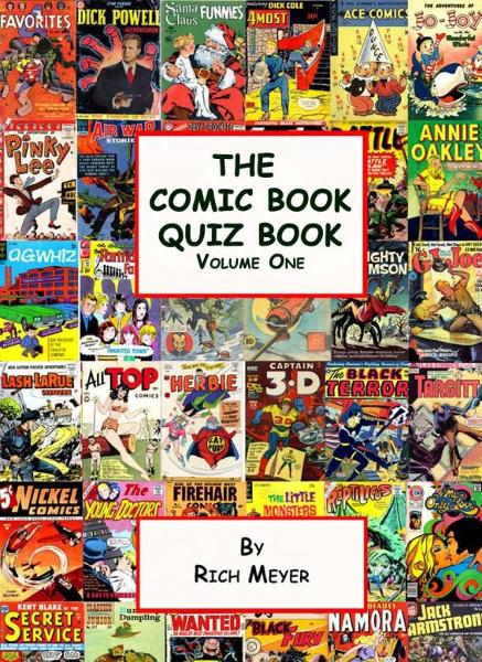 The Comic Book Quiz Book: Volume 1