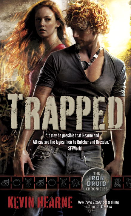 Trapped (The Iron Druid Chronicles, Book Five) By: Kevin Hearne