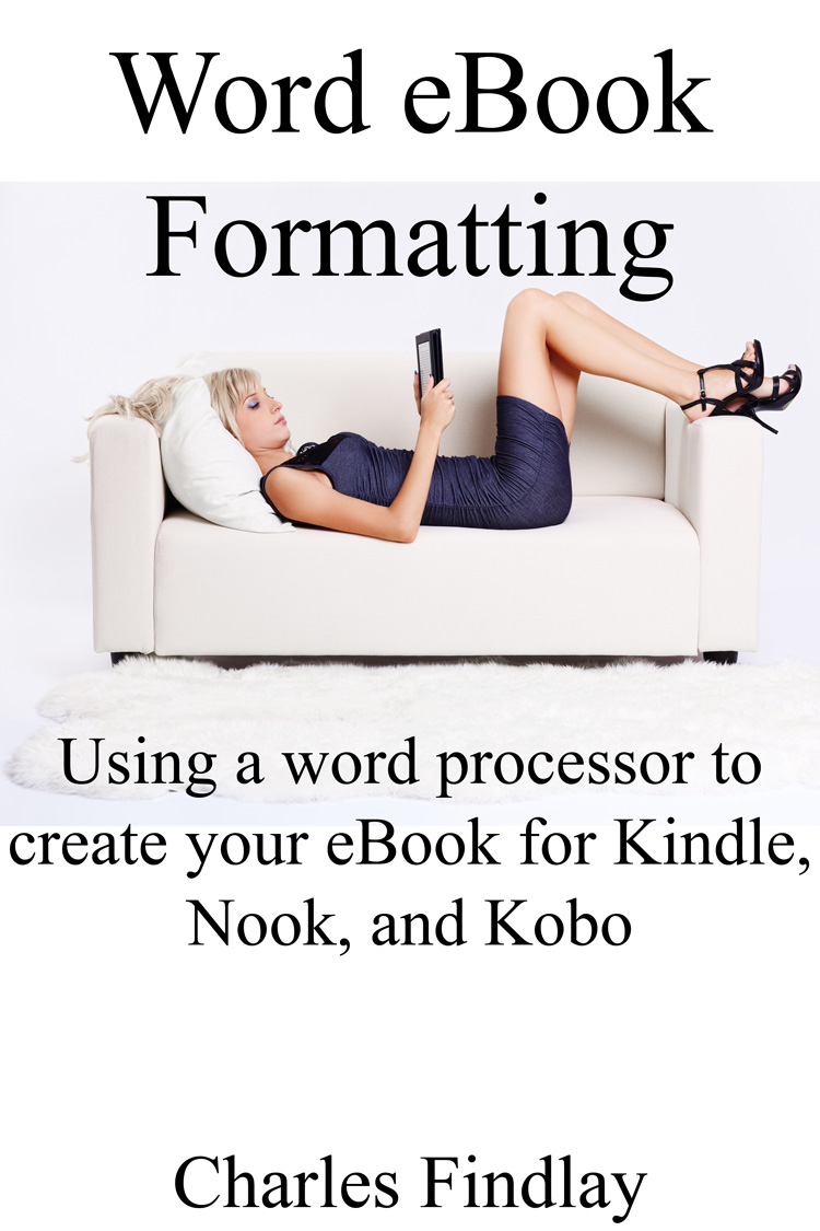 Word eBook formatting