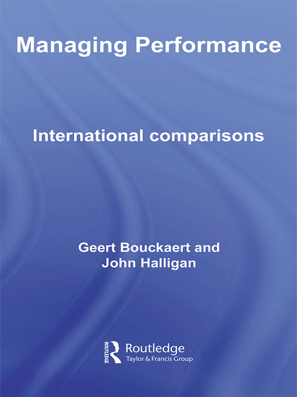 Managing Performance International Comparisons