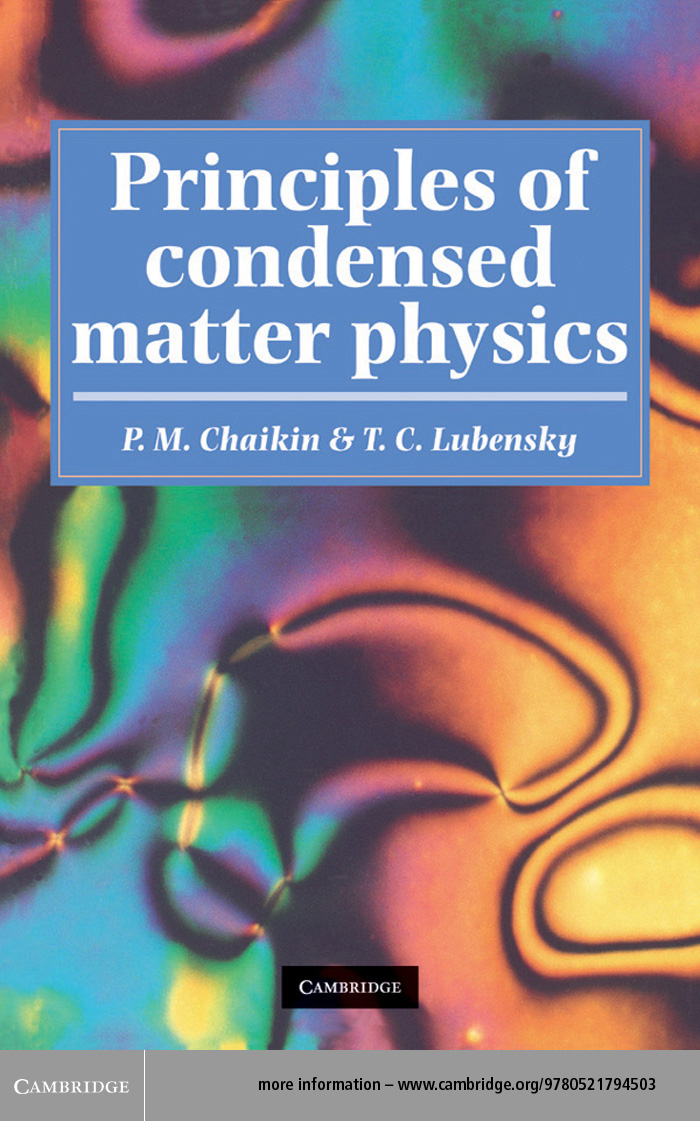 Principles of Condensed Matter Physics