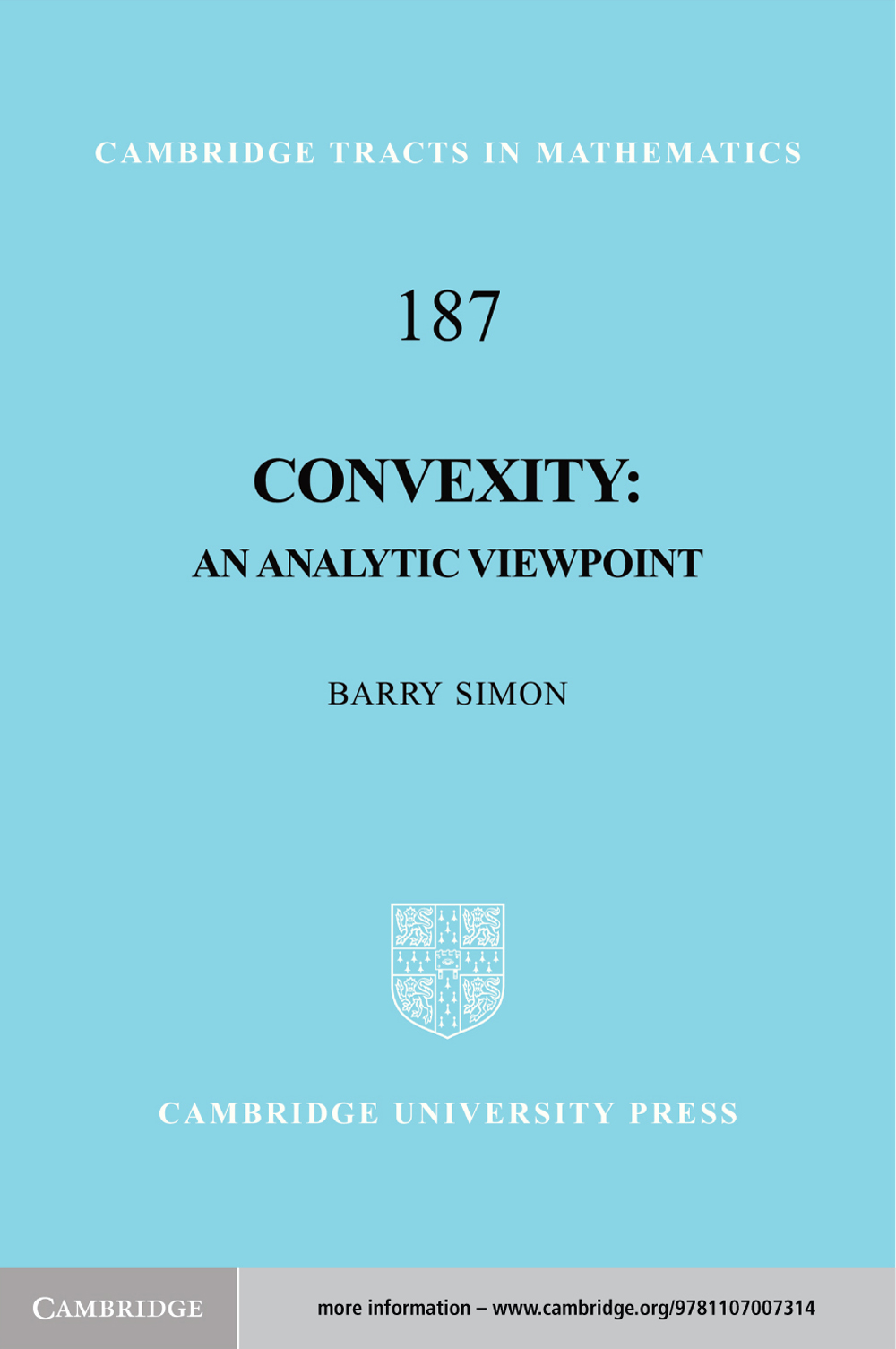 Convexity An Analytic Viewpoint