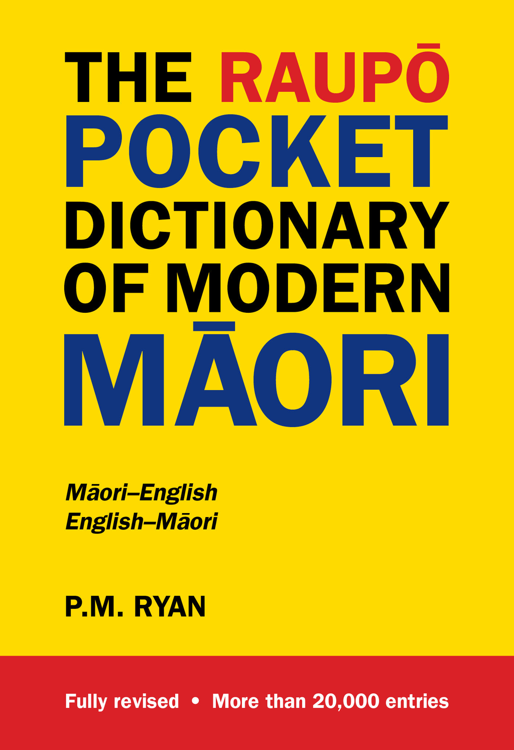 Raupo Pocket Dictionary of Modern Maori