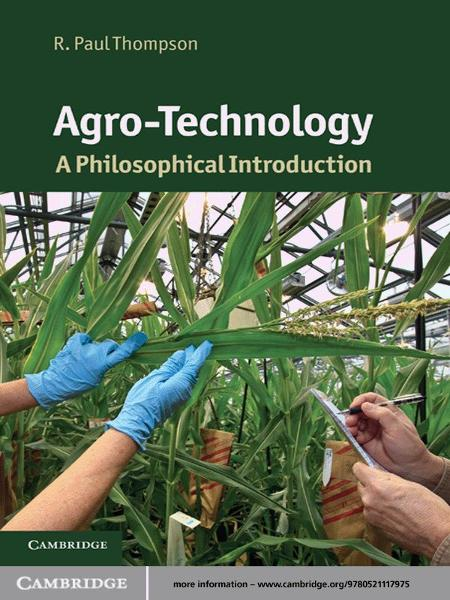 Agro-Technology A Philosophical Introduction