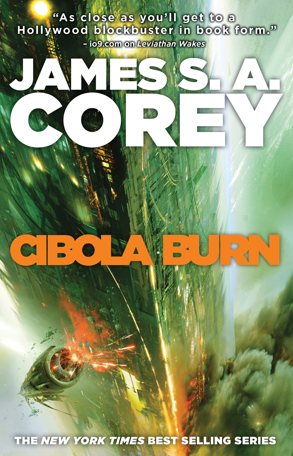 Cibola Burn Book Four of the Expanse series