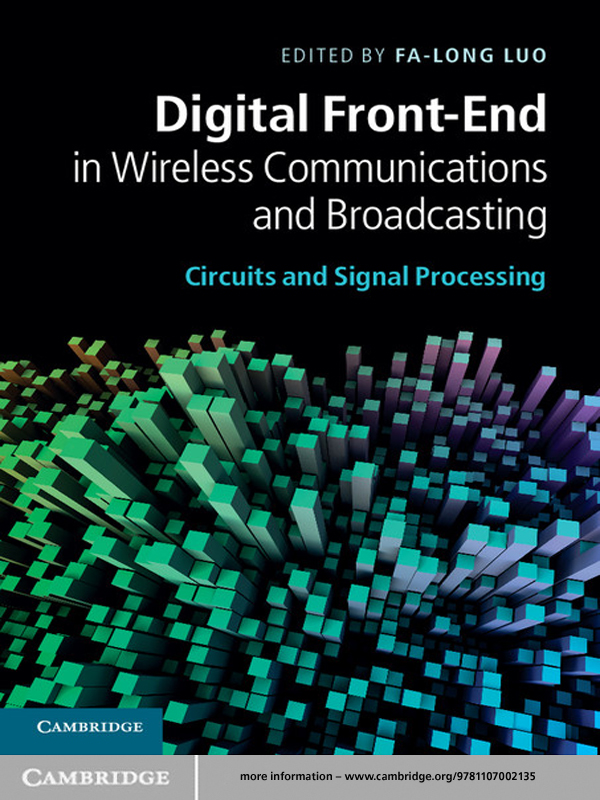 Digital Front-End in Wireless Communications and Broadcasting Circuits and Signal Processing