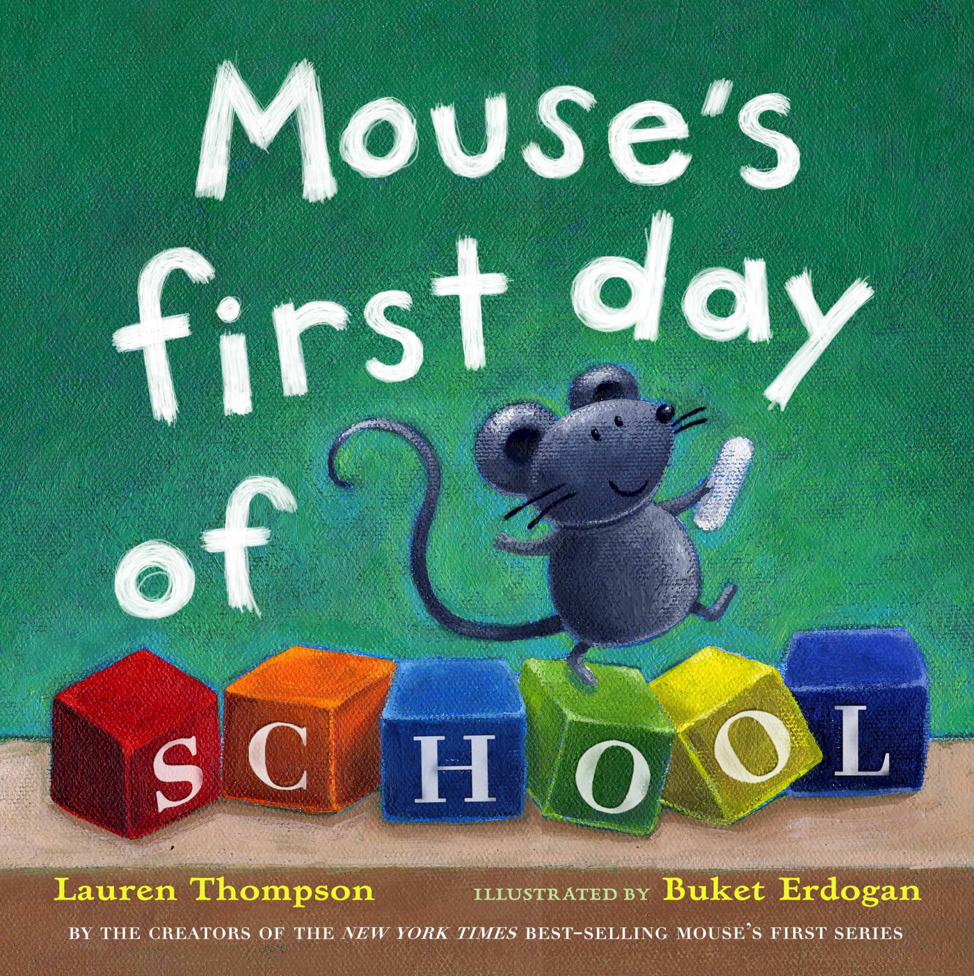 Mouse's First Day of School with audio recording