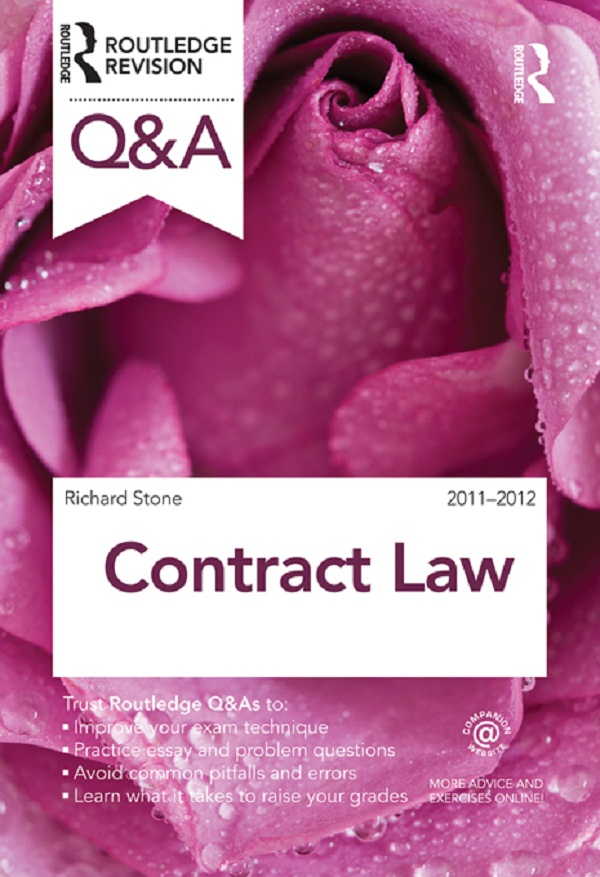 Q&A Contract Law 2011-2012 By: Richard Stone