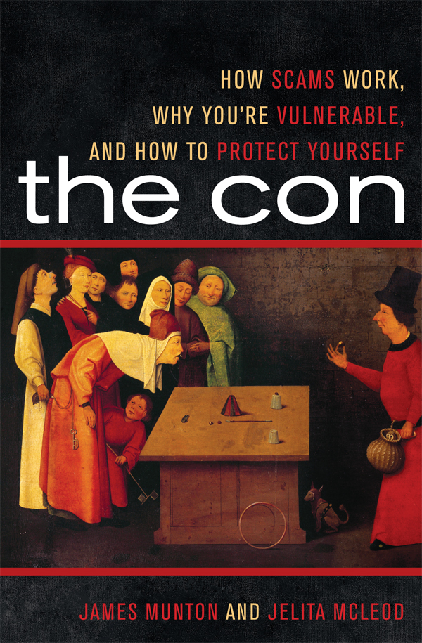 The Con By: James Munton,Jelita McLeod