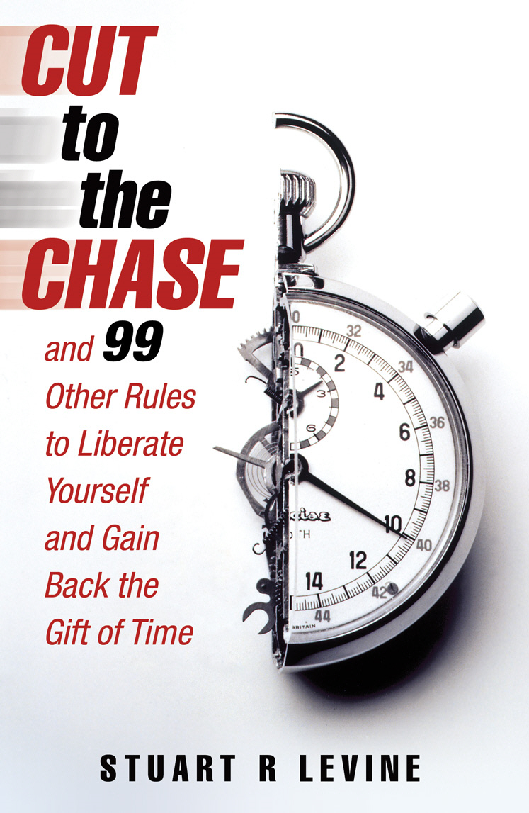 Cut to the Chase and 99 Other Rules to Liberate Yourself and Gain Back the Gift of Time