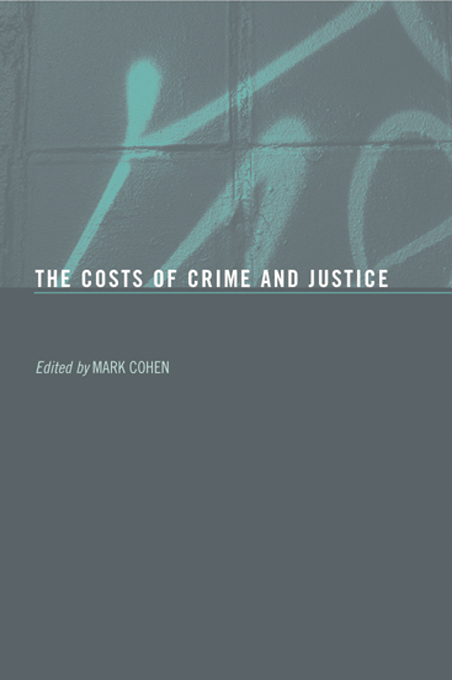 The Costs of Crime and Justice