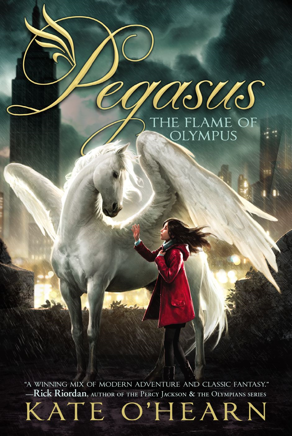 The Flame of Olympus By: Kate O'Hearn