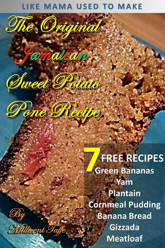 The Original Jamaican Sweet Potato Pone Recipe