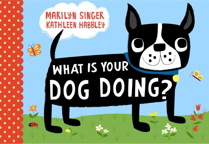 What Is Your Dog Doing? By: Marilyn Singer,Kathleen Habbley