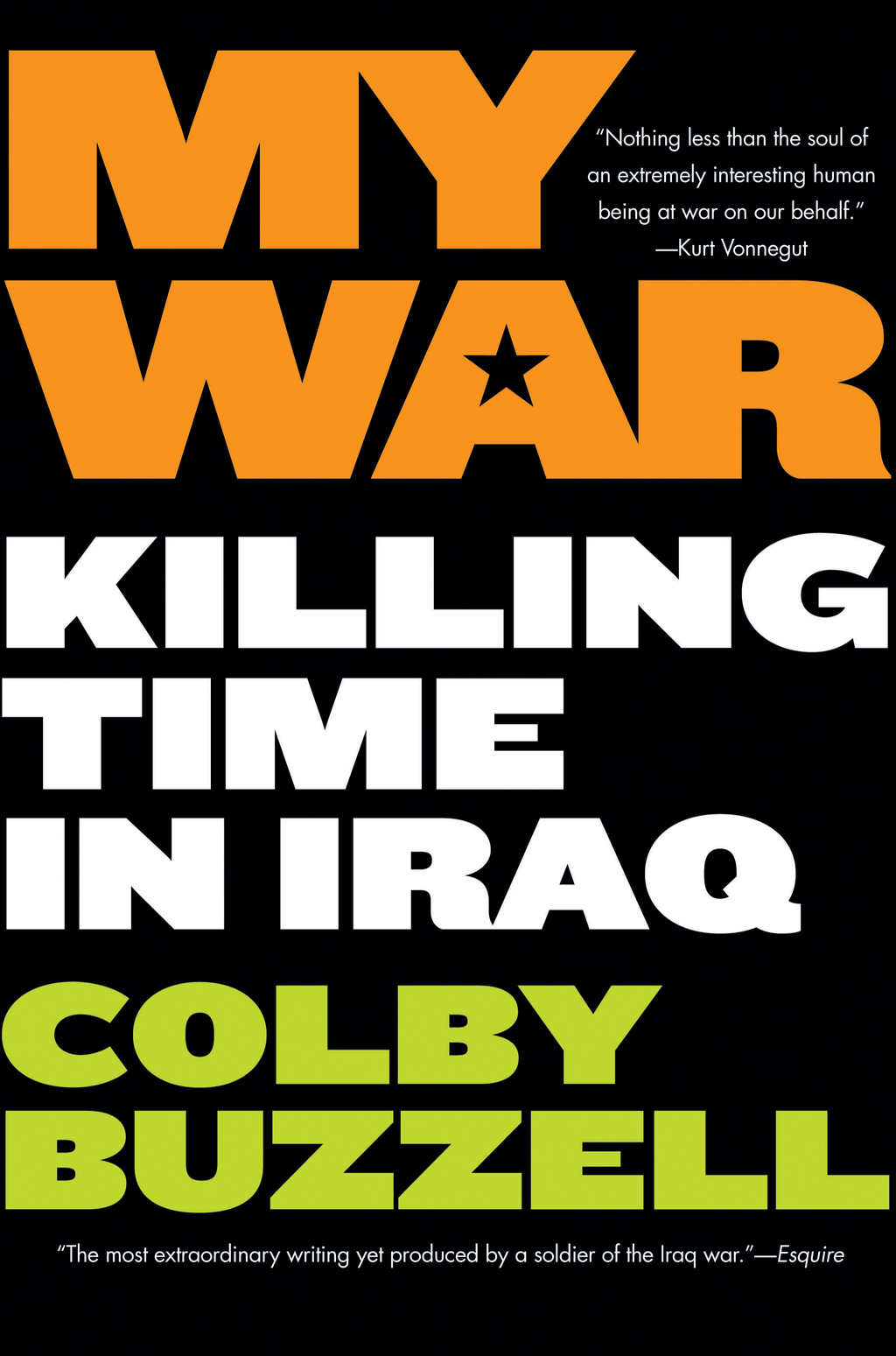 My War By: Colby Buzzell
