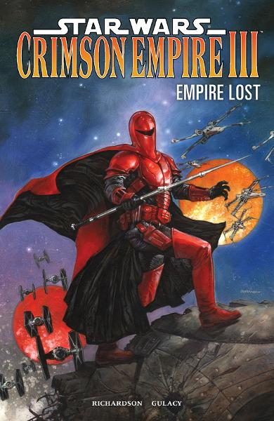 Star Wars: Crimson Empire III--Empire Lost By: Mike Richardson, Paul Gulacy (Artist), Michael Bartolo (Colorist), Dave Dorman (Cover Artist)