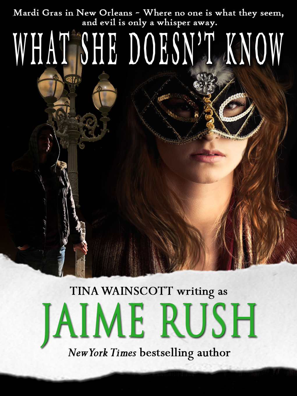 What She Doesn't Know By: Tina Wainscott