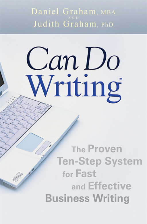Can Do Writing By: Daniel Graham,Judith Graham