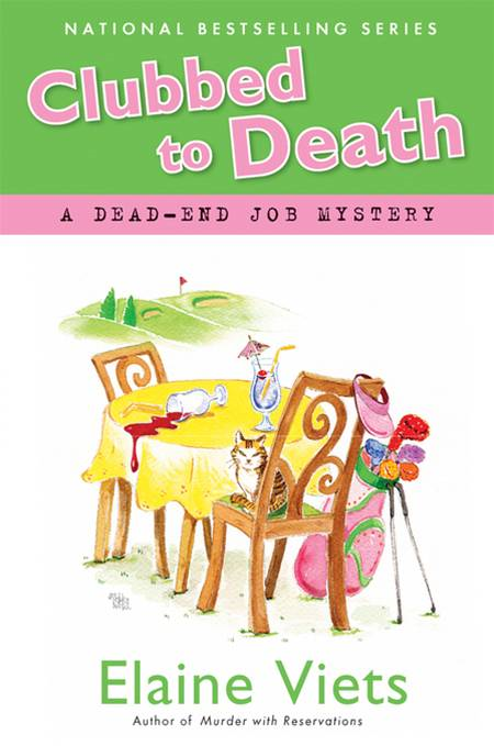 Clubbed To Death: A Dead-End Job Mystery