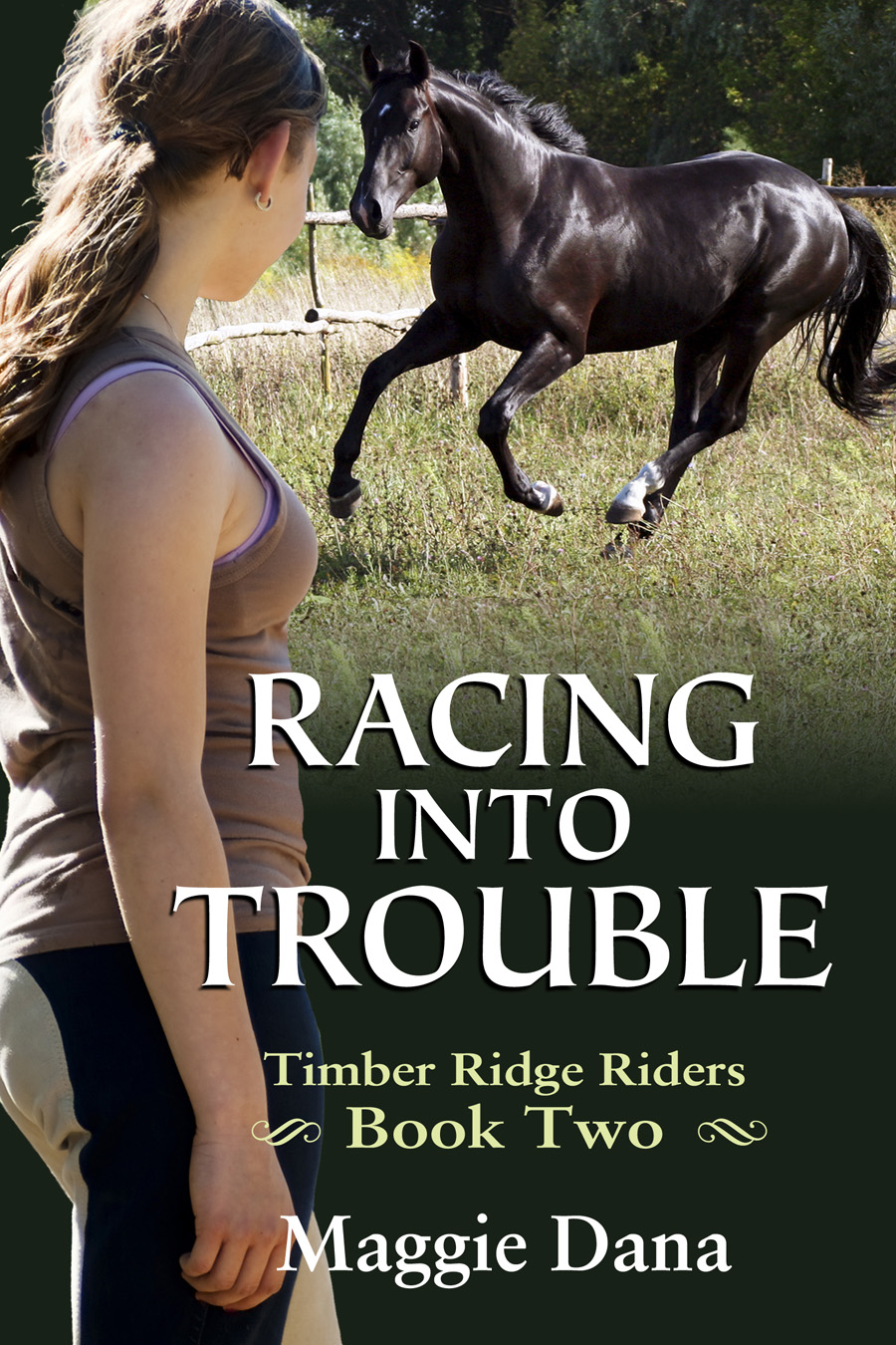 Racing into Trouble By: Maggie Dana