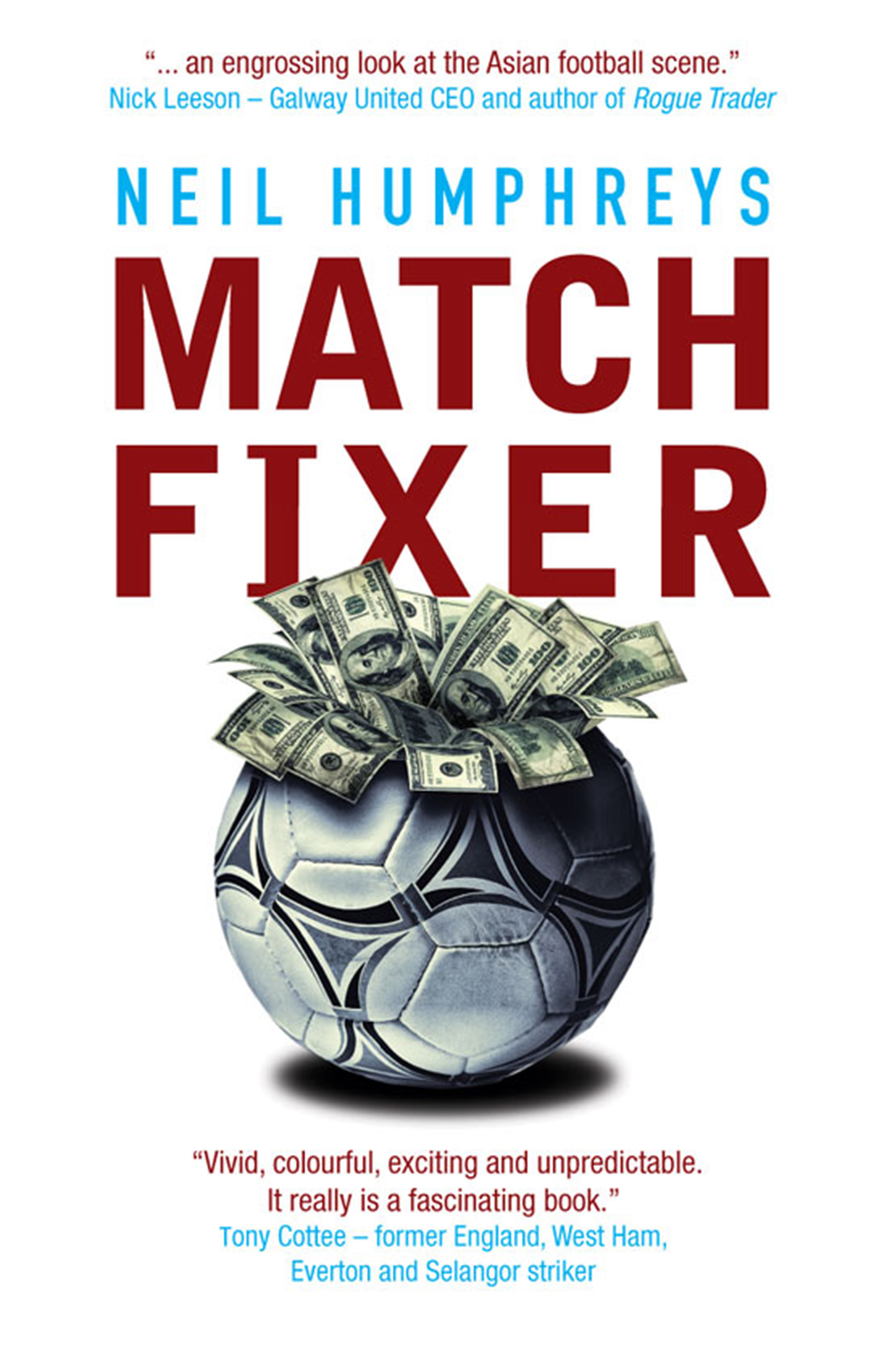 Match Fixer By: Neil Humphreys