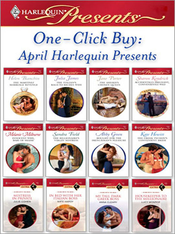 One-Click Buy: April Harlequin Presents