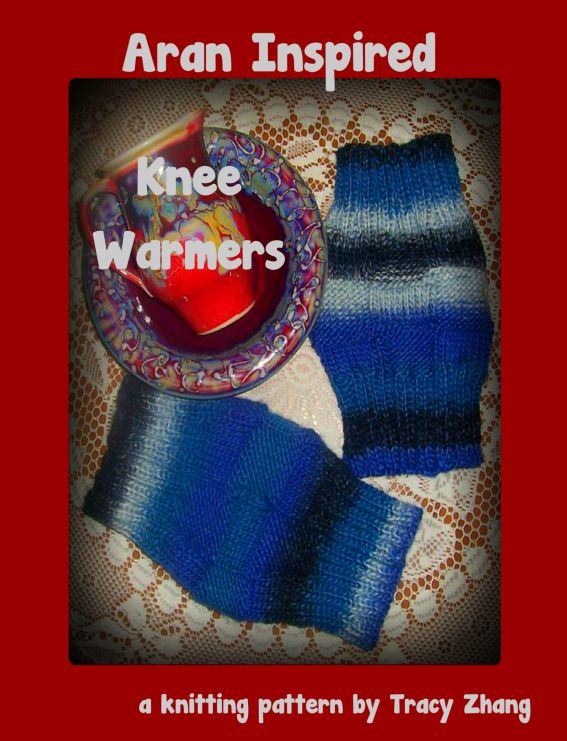 Aran Inspired Knee Warmers: A Knitting Pattern