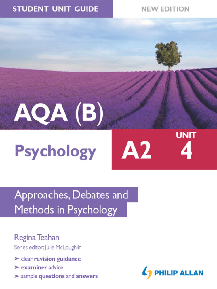 AQA(B) A2 Psychology Student Unit Guide New Edition: Unit 4 Approaches,  Debates and Methods in Psychology