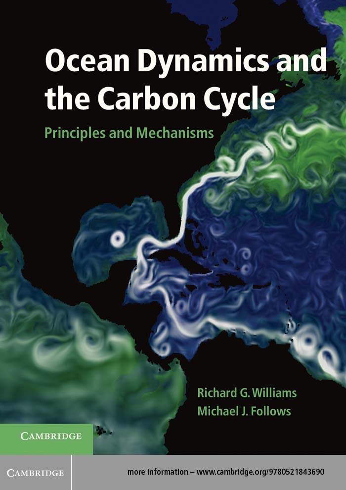 Ocean Dynamics and the Carbon Cycle Principles and Mechanisms