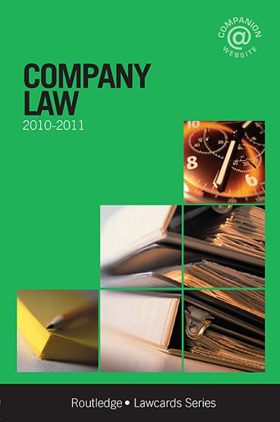 Company Lawcards 2010-2011