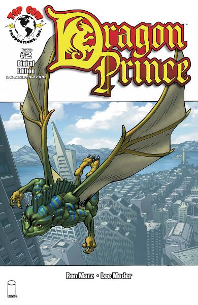 Dragon Prince #2 By: Ron Marz, Lee Moder, Jeff Johnson, Michael Avon Oeming