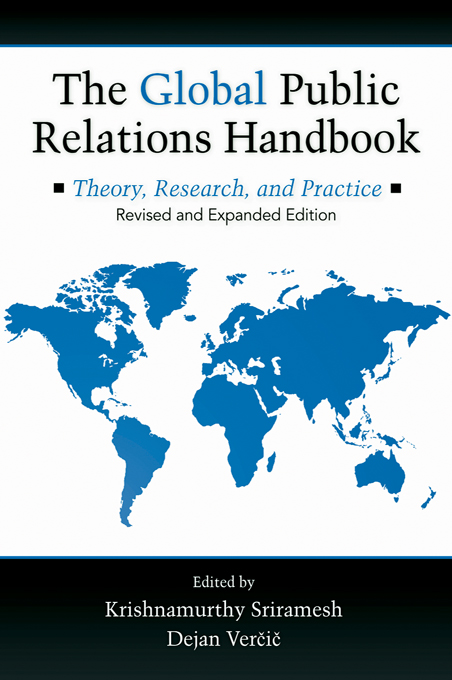 The Global Public Relations Handbook, Revised Edition By: