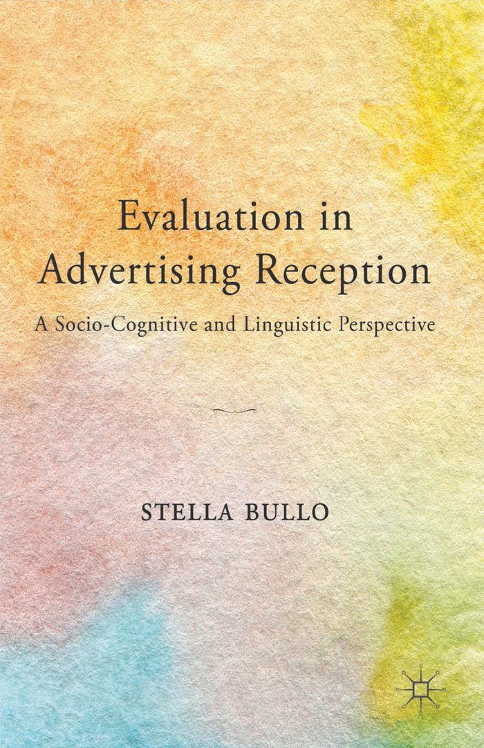 Evaluation in Advertising Reception A Socio-Cognitive and Linguistic Perspective