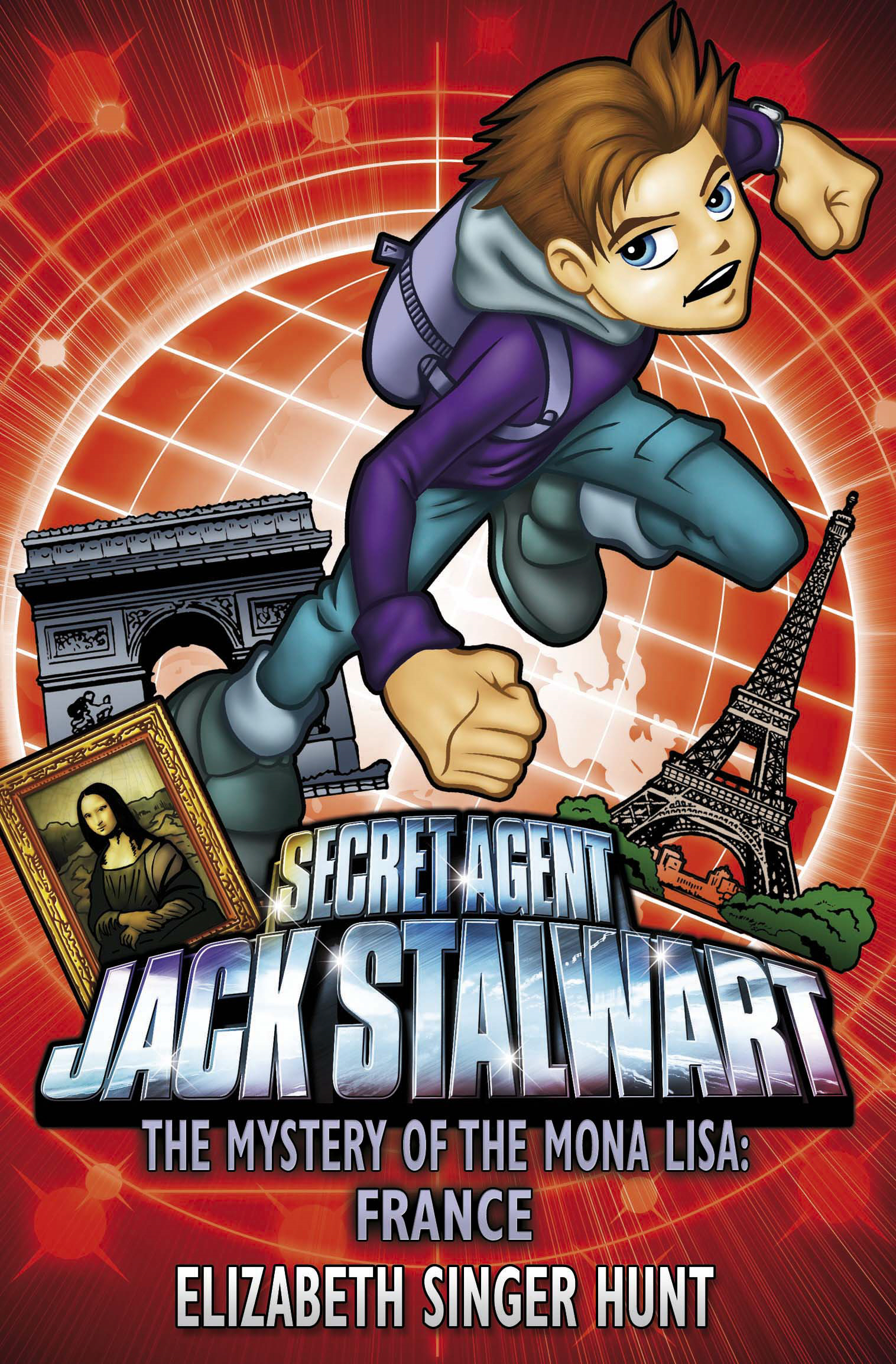 Jack Stalwart: The Mystery of the Mona Lisa France: Book 3