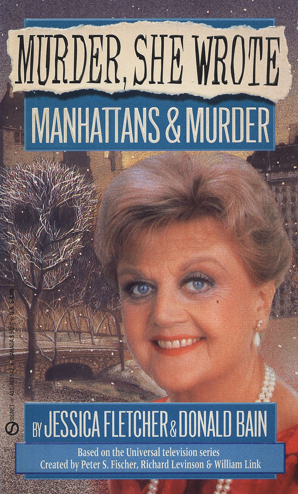 Murder, She Wrote: Manhattans & Murder By: Donald Bain,Jessica Fletcher