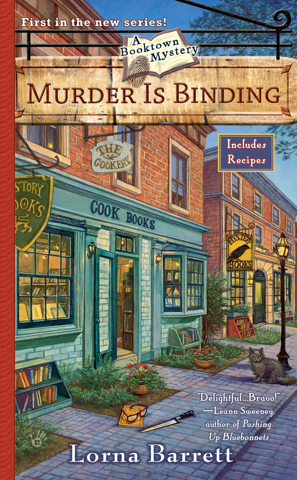 Murder Is Binding By: Lorna Barrett