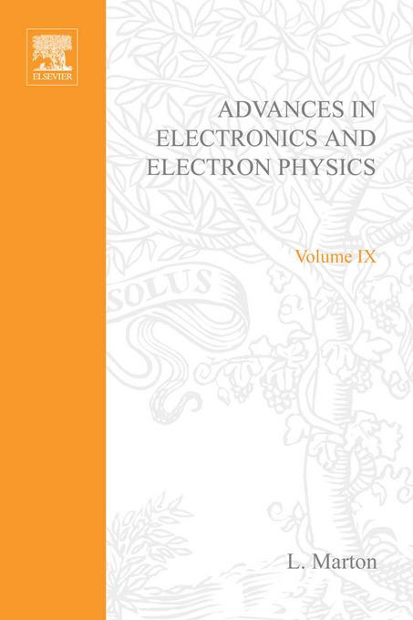 ADVANCES ELECTRONIC &ELECTRON PHYSICS V9