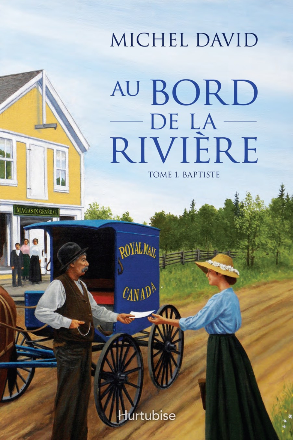 Au bord de la rivière T1 By: Michel David