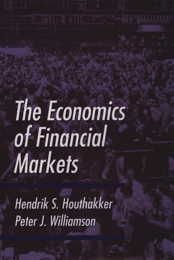 The Economics of Financial Markets