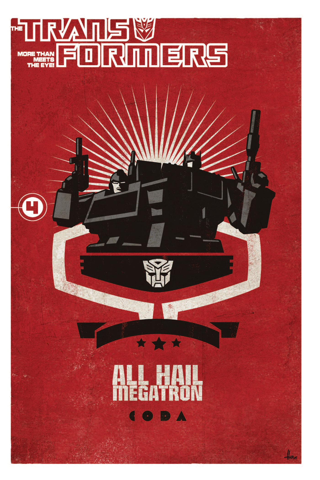 Transformers: All Hail Megatron Vol. 4